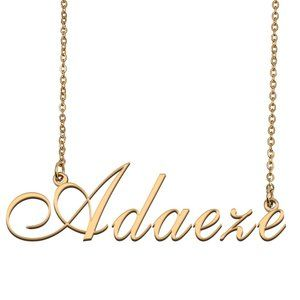 Custom Personalized Adaeze Name Necklace
